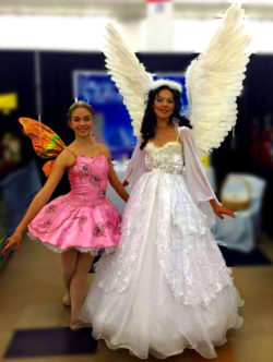 sugar plum fairy and serenite angel