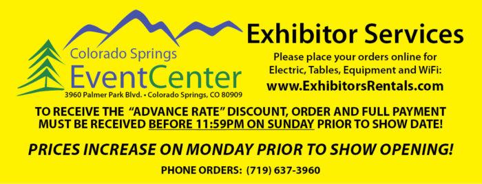 Colorado Springs Gun Show Exhibitor Services